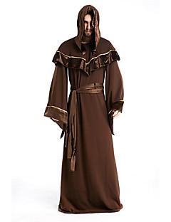 Cosplay Kostumer Festkostume Troldmand/Heks Festival/Højtider Halloween Kostumer Trykt mønster Trikot/Heldragtskostumer Mere Tilbehør