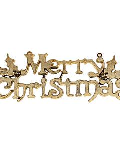 Prázdninové šperky Zlatá / Stříbrná PVC Cosplay příslušenství Vánoce