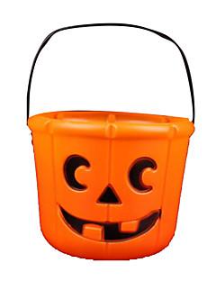 Artigos de Halloween Abóbora Festival/Celebração Trajes da Noite das Bruxas Laranja Cor Única Mais Acessórios Dia Das Bruxas Unisexo