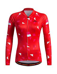 Miloto Camisa para Ciclismo Mulheres Manga Longa Moto Pulôver Camisa/Roupas Para Esporte Blusas Térmico/Quente Secagem Rápida Zíper