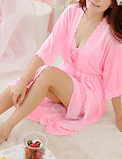 Damer Pajama Blonder/Issilke (syntetisk) Tynn