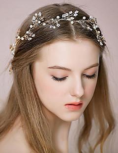 Women's Rhinestone / Alloy Headpiece-Wedding /OutdoorHeadbands / Hair Combs / Flowers / Hair Stick / Hair