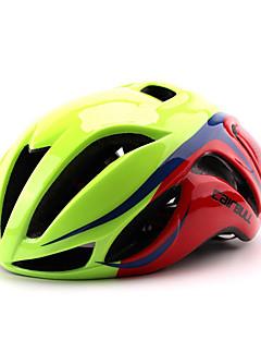 קסדה-לנשים / לגברים / יוניסקס-קסדה מלאה / הר / כביש / ספורט-רכיבה על אופניים / רכיבה על אופני הרים / רכיבה בכביש / רכיבת פנאי(ירוק / אדום