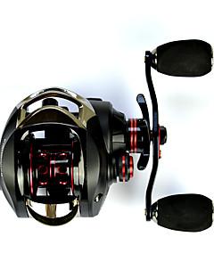 ベイトキャスト リール 7.0:1 14 ボールベアリング 左利きの 海釣り-OXLEFT fishdrops