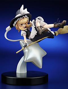 Touhou Project Marisa Kirisame PVC 25cm Figures Anime Action Jouets modèle Doll Toy