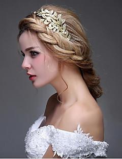 Mulheres Liga Imitação de Pérola Capacete-Casamento Ocasião Especial Casual Ao ar LivreBandanas Flores Cabelo da vara Acessórios para