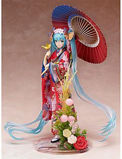 Vocaloid Hatsune Miku PVC 22cm Anime Čísla akce Stavebnice Doll Toy