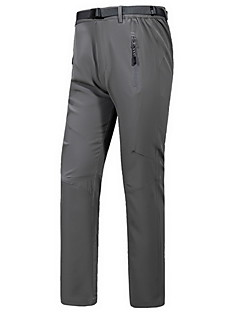 Outdoor Men's Bottoms Running Breathable Fall/Autumn / Winter Black-Sports
