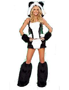 Cosplay Kostýmy / Kostým na Večírek Zvířecí Festival/Svátek Halloweenské kostýmy Bílá / Černá TiskVrchní deska / Rukavice / Návleky na