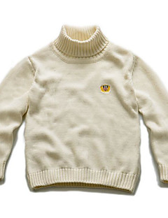 Boy's Casual/Daily Solid Sweater & CardiganCotton Winter / Spring / Fall Blue / Beige