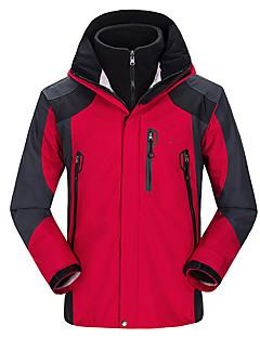 Hiking Softshell Jacket Men's Waterproof / Quick Dry / Dust Proof / Comfortable Winter Tactel Green / Red / Black / Blue