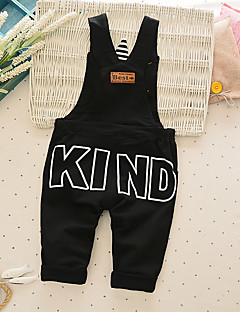Boy's Casual/Daily Print Overall & JumpsuitCotton Spring / Fall Black / Gray