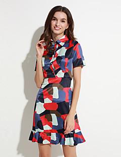 De maxlindy vrouwen vintage uitgaan / partij / verfijnd schede jurk