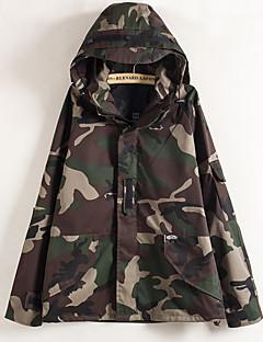 Uniszex Szélvédő kabátok Kempingezés és túrázás Melegen tartani Szélbiztos Ultraibolya biztos Viselhető Kényelmes Vastag Tavasz Tél Ősz