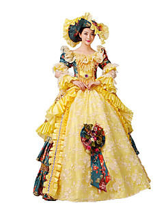 Steampunk@Women's Classic Lolita Fancy Dress Cosplay Costume with Free Petticoat