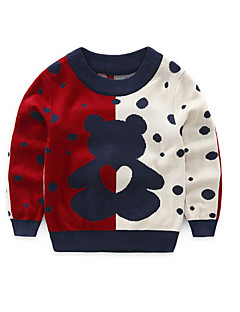 Boy's Casual/Daily Polka Dot Sweater & CardiganAcrylic Winter / Spring / Fall Black / White