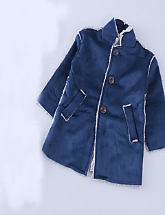 Boy's Casual/Daily Solid Suit & BlazerCotton Winter / Spring / Fall Blue
