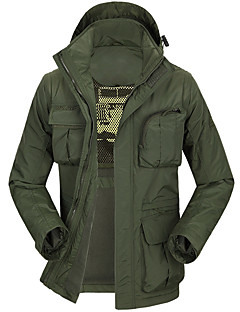 Vandring Softshell-jakker Unisex Åndbart / Hold Varm / Hurtigtørrende / Vindtæt / Ultraviolet Resistent / Påførelig / Svedreducerende