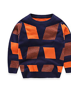 Boy's Casual/Daily Solid Sweater & CardiganCotton Spring / Fall Orange / Yellow