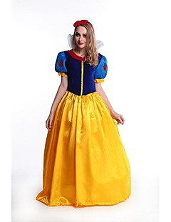 Extravagant Snow Princess Costume Fairy Tale Storybook Ladies Fairytale Party Ball Halloween Dress