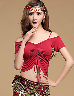 Belly Dance Tops Women's Training Modal 1 Piece Short Sleeve Top 49  51