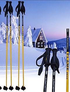 flame_9max ski pole.ski sportartikelen / geel