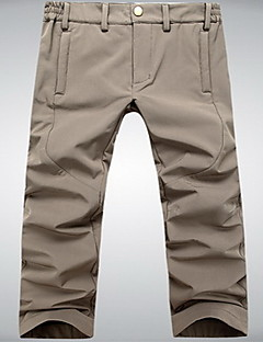 Men's Tights / Bottoms Camping / Hiking / Exercise & Fitness / Leisure Sports / RunningWaterproof / Breathable / Thermal / Warm /
