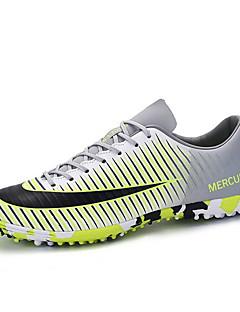 Voetbalschoenen Heren Anti-slip Anti-Shake Slijtvast Ademend Voor Buiten Low-Top PVC Leder Voetbal