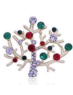 תכשיט חג זהוב סגסוגת אביזרי קוספליי חג המולד / ראש השנה