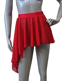 ריקוד לטיני חצאיות טוטו וחצאיות בגדי ריקוד נשים / בגדי ריקוד ילדים ביצועים שיפון / ניילון / לייקרה חלק 1 חצאית