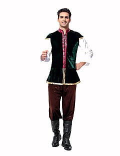 Cosplay Kostüme Party Kostüme Oktoberfest/Bier Kellner/Kellnerin Karriere Kostüme Fest/Feiertage Halloween Kostüme Braun DruckTop Hosen