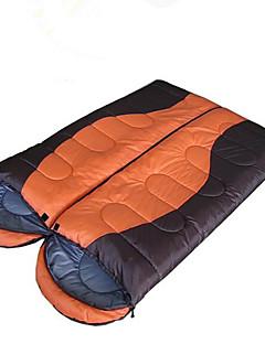 침낭 더블 사이즈 침낭 더블 -5-15 중공 코튼 2,000g 210X75 하이킹 / 캠핑 / 바닷가 / 낚시 / 여행 / 수렵 / 야외 / 실내수분 방지 / 방수 / 호흡 능력 / 먼지 방지 / 안티 곤충 / 바람 방지 / 정전기 방지 /