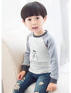 Boy Casual/Daily Solid Blouse,Cotton All Seasons Regular