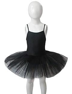 Balé Vestidos Mulheres / Crianças Actuação Nailon / Tule / Licra 1 Peça Sem Mangas Tutus