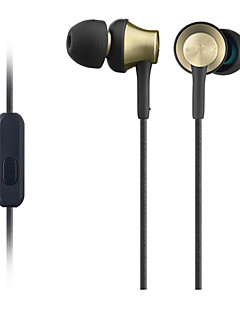 gusoll desporto de metal auscultadores MDR-ex650ap fone de ouvido fone de ouvido de alta fidelidade para Xiaomi iphone com microfone