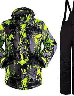 Mulheres Blusas Calças Acampar e Caminhar Esportes de Neve Corrida Impermeável Térmico/Quente A Prova de Vento Isolado Confortável