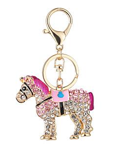 novi konj vruće modni torbu torbicu ključ lanac ma automobil postaviti svrdlo privjesak kopča privjesak dar