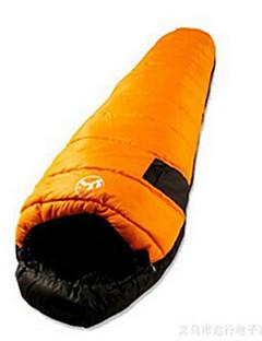 Sovepose Mumie Singel 10 Dukke Ned 1000g 230X100 Camping / Reise / InnendørsVanntett / Regn-sikker / Vindtett / Velventilert /