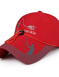 Chapéu Resistente Raios Ultravioleta Unissexo Basebal Verão Branco Vermelho Cinzento Preto Azul Cáqui Escuro-Esportivo®