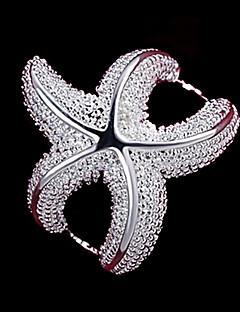 Dame uttalelse Ringe kostyme smykker Sølv Smykker Til Bryllup Fest Daglig Avslappet