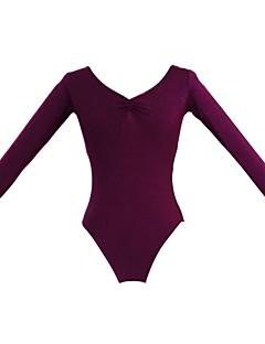 בלט חלקים עליונים בגדי ריקוד נשים בגדי ריקוד ילדים כותנה שרוול ארוך 110:50 120:53 130:56 140:59 150:61 160:64 170:67 180:70