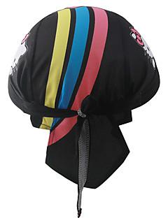 Headsweat כובעים כובע אופנייים נושם ייבוש מהיר עמיד מבודד תומך זיעה רך קרם הגנה מגביל חיידקים מפחית שפשופים לנשים לגברים יוניסקס שחור