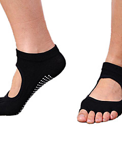 Professional Yoga Socks Dug Non-slip Back Five-Fingers Toes Yoga Socks Dance Socks 1 Pair