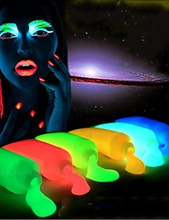 1pcs club party handgemalte Leuchtfarbe Heizstab Halloween-Nacht Fahrwerks Körperfarbe Leuchtfarbe