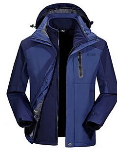 Hiking Tops Men's Waterproof / Thermal / Warm / Windproof / Insulated / Comfortable Winter Terylene Blue / Army Green / Light KhakiM / L