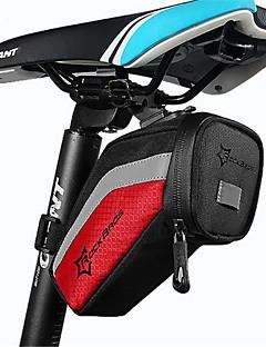 תיק אופנייםתיקי אוכף לאופניים עמיד למים רוכסן עמיד למים חסין זעזועים ניתן ללבישה מסך מגע נושם טלפון/Iphone תיק אופניים ניילון תיק אופניים