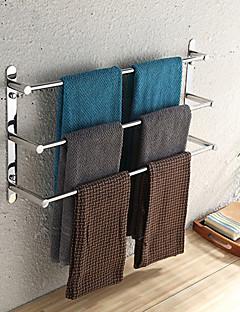 weiyuwuxian® 304 roestvrij staal 23,6 inch gepolijste afwerking drie handdoek bars handdoekenrek