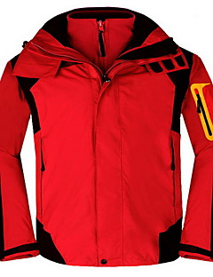 Hiking Tops Men's Waterproof / Thermal / Warm / Windproof / Insulated / Comfortable Spring / Fall/Autumn / Winter ChinlonYellow / Red /