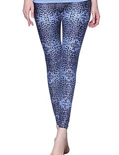 calças de yoga Calças Confortável Alto Elasticidade Alta Moda Esportiva Azul Escuro Mulheres Ioga