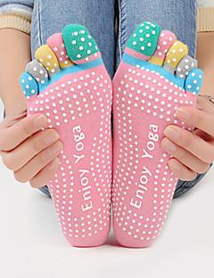 Damen Socken Sportsocken Zehensocken Rutschfeste Socken Yoga PilatesAtmungsaktiv tragbar Schweißableitend Antirutsch Komfortabel